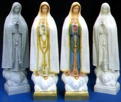 Our Lady of Fatima Garden Statue