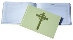 Guest Book - White with Psalms