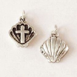 Baptism Charm - Sterling Silver