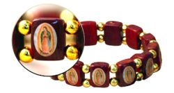 Stretch Bracelet - Our Lady of Guadalupe