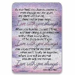 I Am With You Always Pocket Card - Package of 25