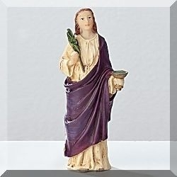 St Lucy Small Figurine