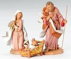 Holy Family - Fontanini 12 inch scale