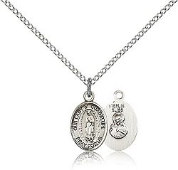 Our Lady of Guadalupe Silver Medal - Small