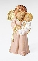 Bless this Child Girl Angel - Fontanini 5 inch scale