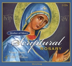 Scriptural Rosary CD by Vinny Flynn