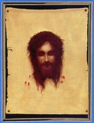 Shroud of Turin Veronica's Veil Picture