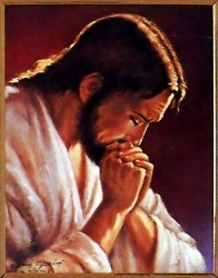 Praying Jesus Picture