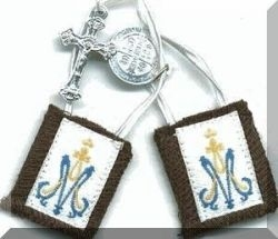 Small Brown Scapular