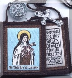 St Therese Brown Scapular