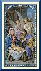 Christmas Holy Card