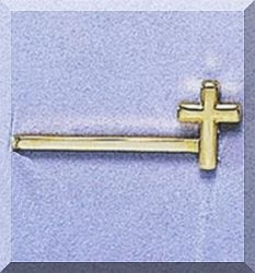 First Communion Gold Tie Clip