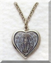 Small Silver Miraculous Medal