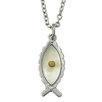 Mustard seed pendant mustard seed necklace mustard seed jewelry mustard seed fish pendant aloadofball Image collections