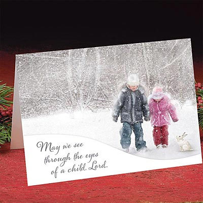 Eyes of a Child - Christmas Card - Abbey Press - Christian ...