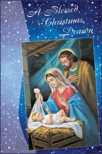Beautiful Religious Christmas Cards.Christmas Card For Deacon Religious Christmas Cards Cards For Deacon