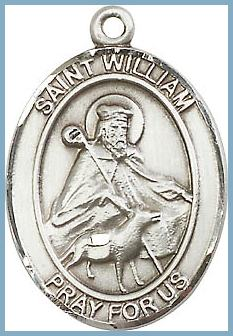 21687d783b7 St William Medal - Saint Medals - St William - Patron Saints - Catholic ...