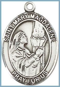 10e46d54c94 St Mary Magdalene Medal - Saint Medals - St Mary - Patron Saints ...