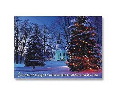 christian christmas card abbey press