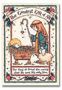 Greatest Gift of All - Christian Christmas Card - Abbey Press ...
