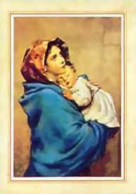 religious christmas card madonna of the street christmas cards