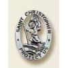 St Christopher - Saint Pin - Religious Lapel Pin