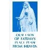 Our Lady of Fatimas Peace Plan from Heaven
