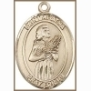 St Agatha Medal - 14K Gold Filled - Medium