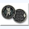 St Christopher Pocket Token - Patron of Travelers