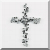 Mustard Seed Pewter Wall Cross