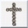 Butterfly Pewter Wall Cross