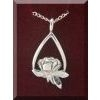 Memorial Tear Sterling Silver Necklace