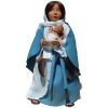 Mary with Baby Jesus Soft Saint Doll