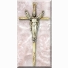 Risen Christ Cross - Gold Plated - 8 inches