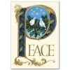 Peace Doves Christmas Card with Scripture