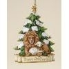 Lion and Lamb Ornament - Josephs Studio