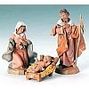 Classic Holy Family - Fontanini 5 inch scale