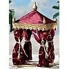 Kings Burgundy Tent - Fontanini 5 inch scale