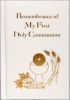 Remembrance of My First Communion Book