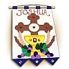 First Communion Banner Kit - Cross of Redemption - Blue