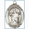 St Aedan Medal - Sterling Silver - Medium