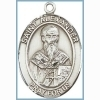 St Alexander Medal - Sterling Silver - Medium