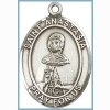 St Anastasia Medal - Sterling Silver - Medium