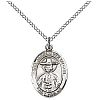 St Andrew Kim Taegon Medal - Sterling Silver - Medium