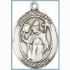 St Boniface Medal - Sterling Silver - Medium