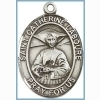 St Catherine Laboure Medal - Sterling Silver - Medium