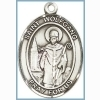 St Wolfgang Medal - Sterling Silver - Medium