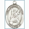 St Frances of Rome Medal - Sterling Silver - Medium