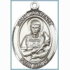 St Lawrence Medal - Sterling Silver - Medium