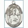 St Leo the Great Medal - Sterling Silver - Medium